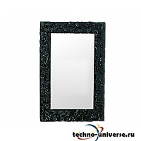 Зеркало Dubiel Vitrum Lustro Pompea Rectangle Black 80х90